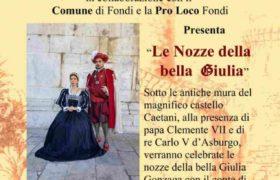 Fondi---Locandina-le-nozze-della-bella-Giulia-Gonzaga-22-luglio-2018