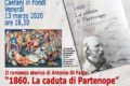 Presentazione romanzo storico la caduta di Partenope Antonio Di Fazio Pro Loco Fondi 13 marzo 2020 WEB