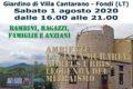 Vivi i Parchi del Lazio 2020 Parco Ausoni Pro Loco Fondi 01 agosto WEB